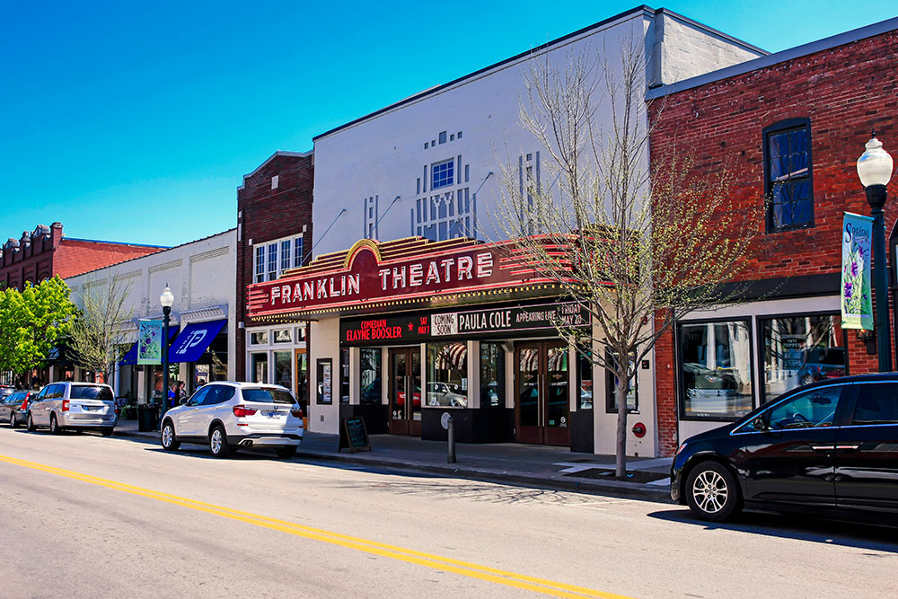 "Franklin, TN and the ""Great American Main Street"""